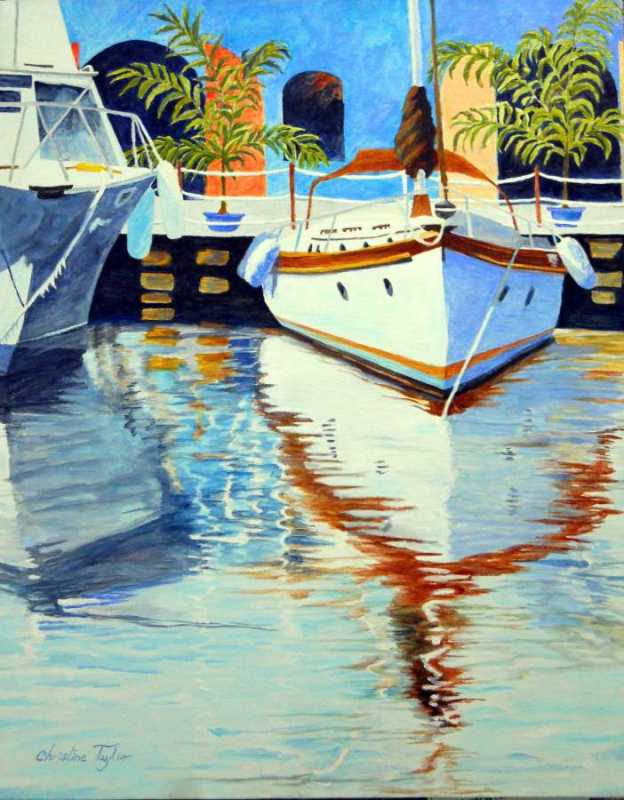 Waterfront  II by Mrs. Christine Taylor - Masterpiece Online