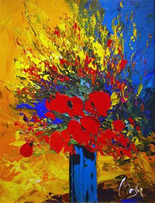 Poppy Glow by  Louis  Magre - Masterpiece Online