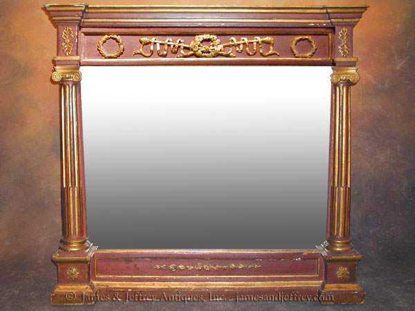Overmantel mirror by  Italian  - Masterpiece Online