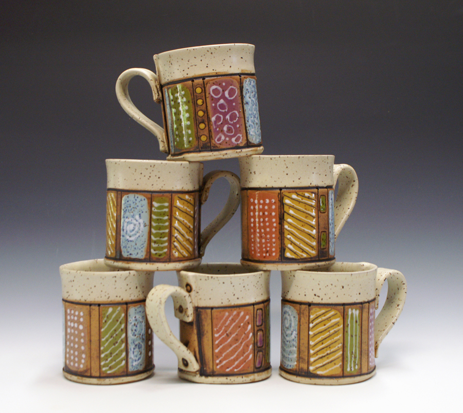 The Brights- 12oz Mugs by  Sandy Terry - Masterpiece Online