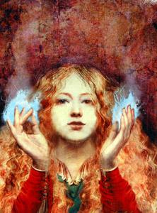 Mystic Fire by  Greg Spalenka - Masterpiece Online