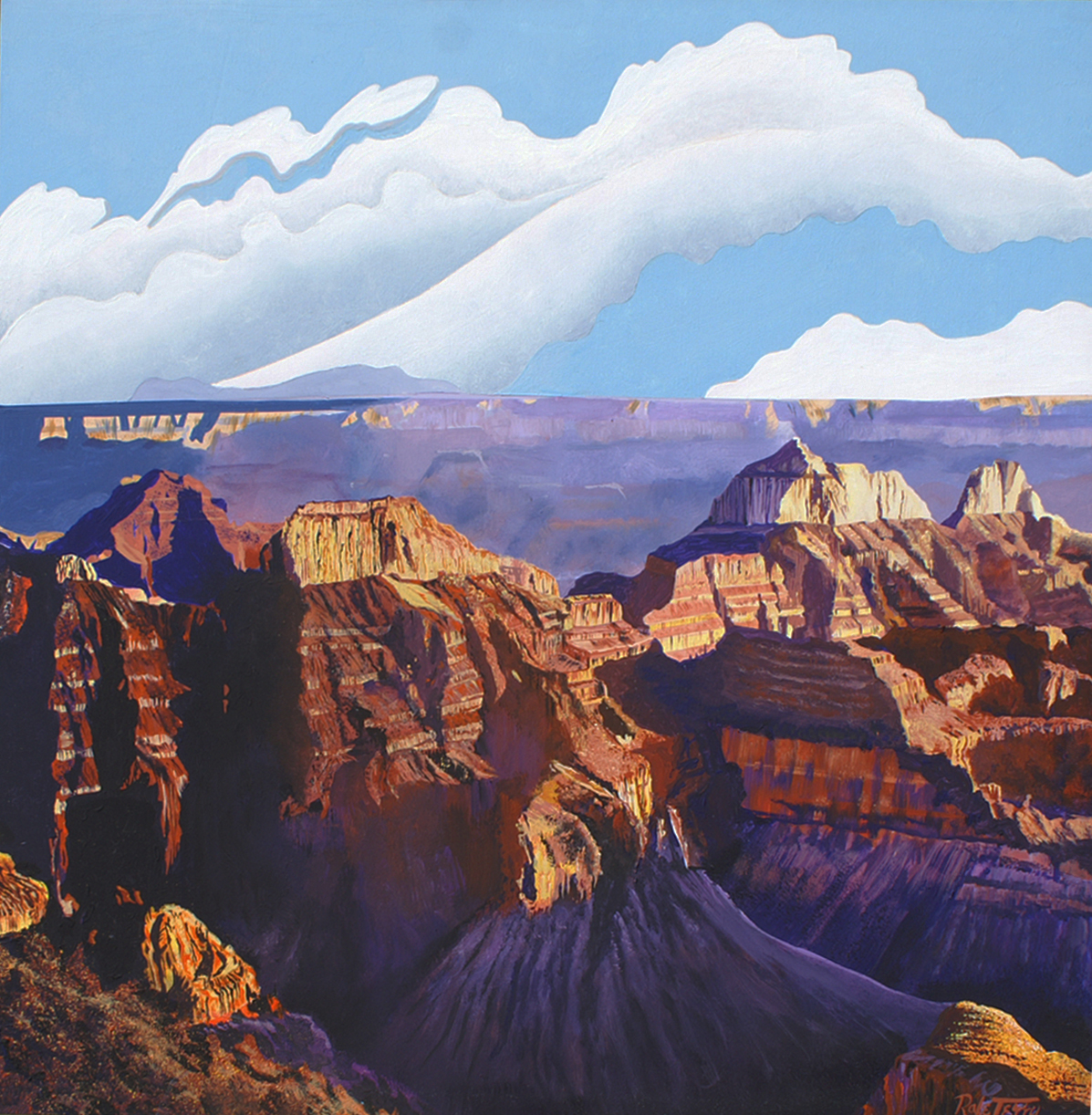 Purple Mountain Majes... by  Rafe Terry - Masterpiece Online