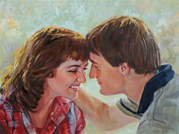 COMMISSION- A Love Wi... by  Barbara Summers Edwards - Masterpiece Online