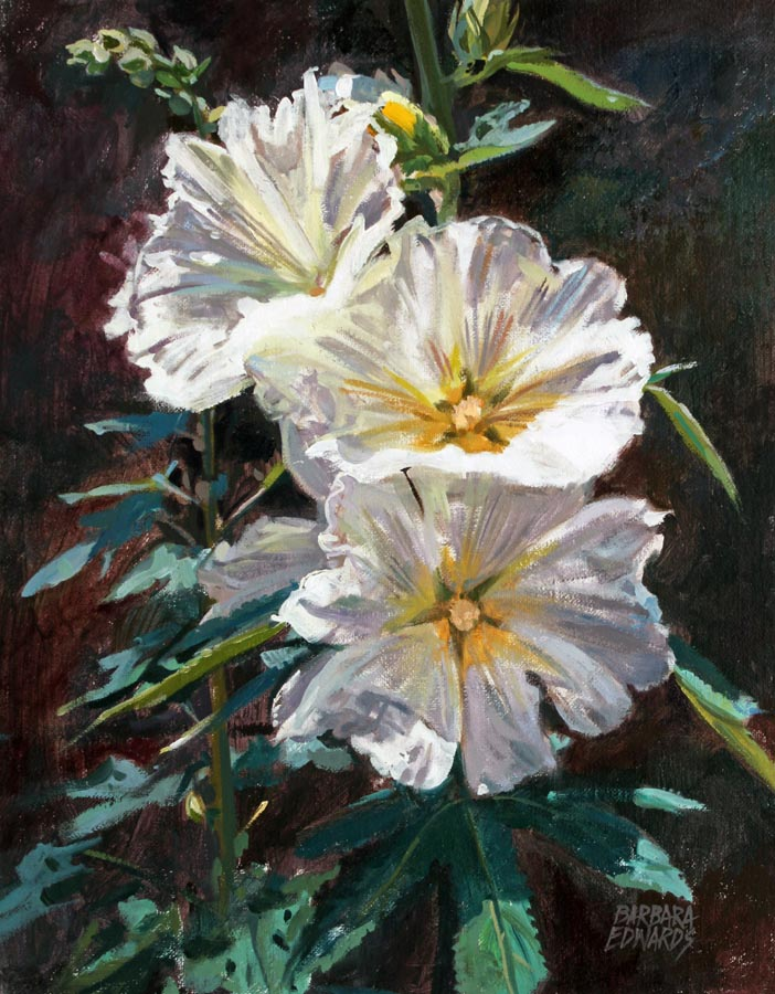 A NEW WORK- White Ho... by  Barbara Summers Edwards - Masterpiece Online