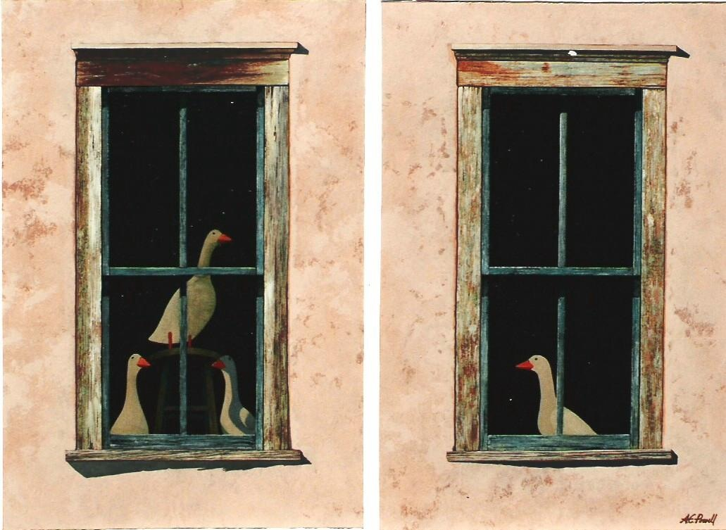 The Geese of Don Gasp... by  Allen Powell - Masterpiece Online