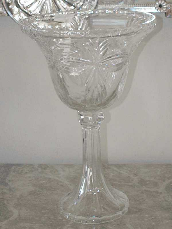 Cut Crystal Vase by  None None - Masterpiece Online
