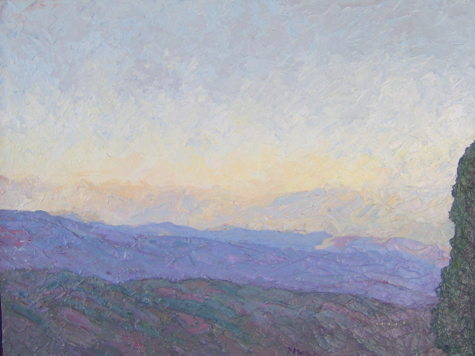 Fading Light Over the... by  Peter Myerson - Masterpiece Online