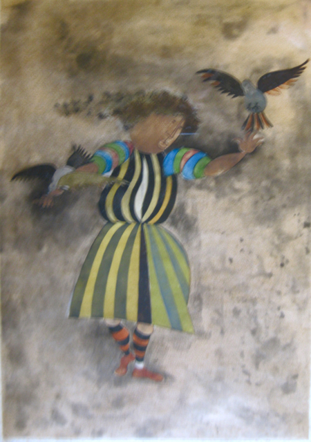 Bird (seule a Venise) by Ms. Graciela Boulanger - Masterpiece Online