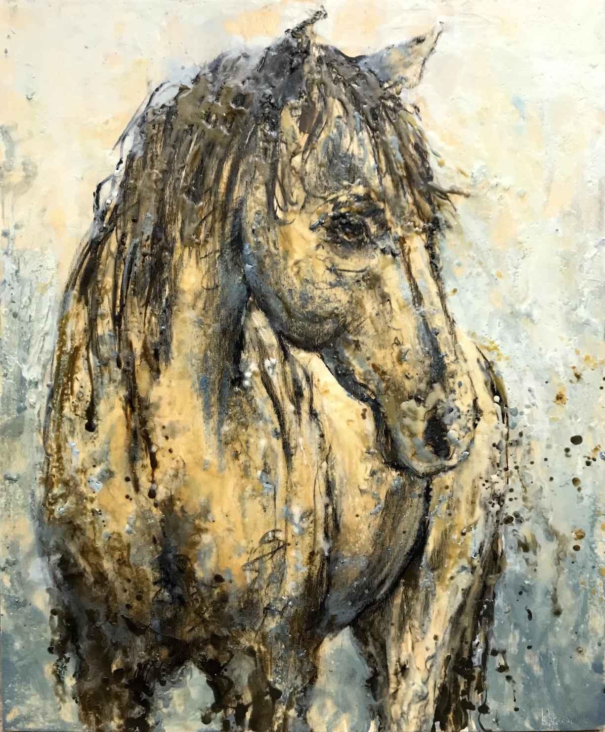 Coy by  Kathy Bradshaw - Masterpiece Online