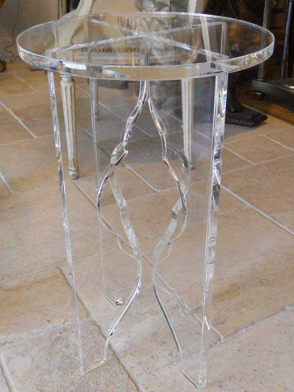 Pair of Custom Lucite... by  None None - Masterpiece Online