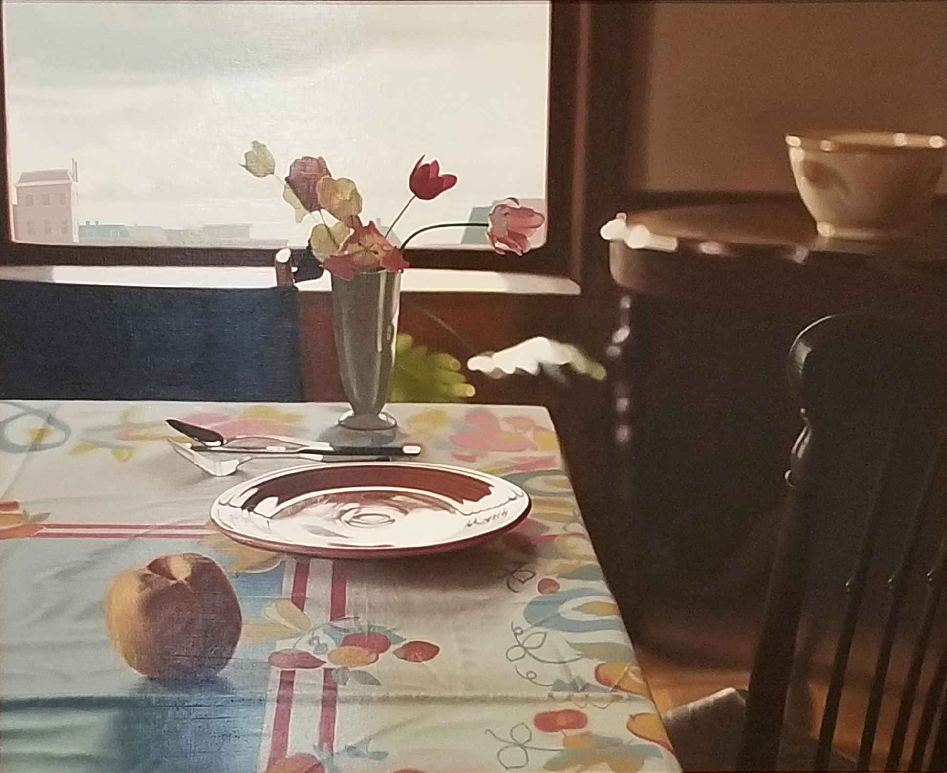 Room with Tulips and ... by  John Sayers - Masterpiece Online