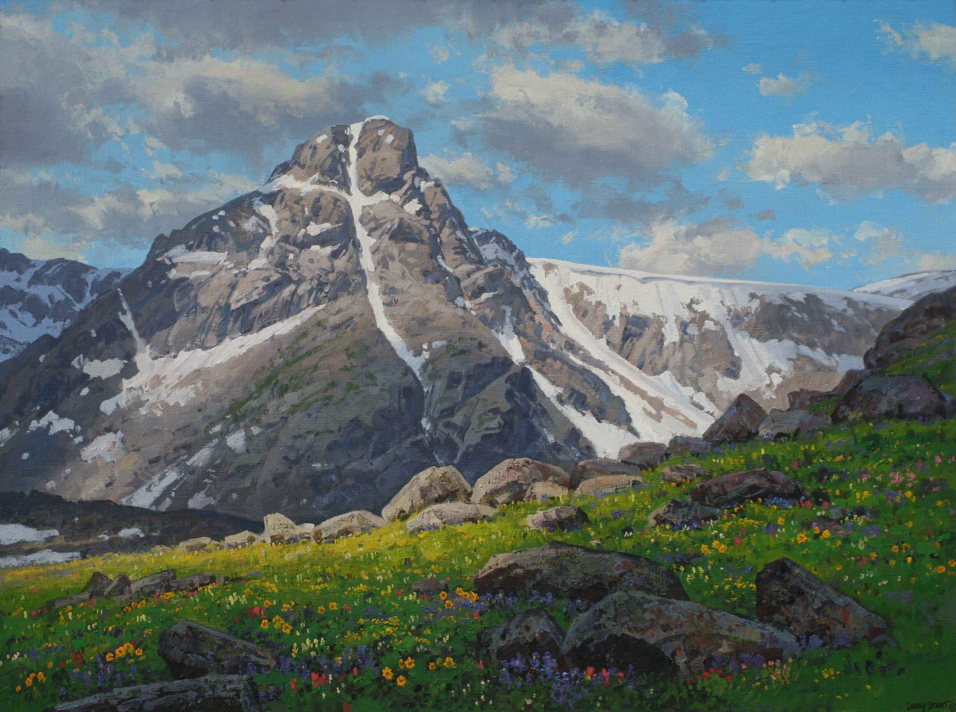 Holy Cross Wilderness by  Lanny Grant - Masterpiece Online