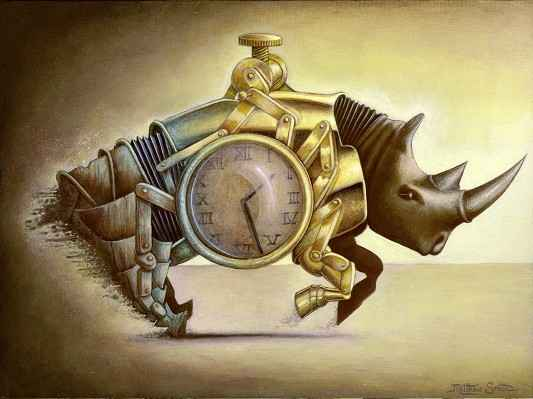 The Stampede (Rhino) by  Matthew Smith - Masterpiece Online