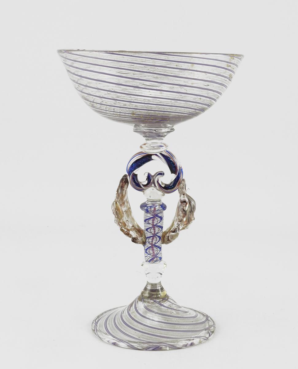 Goblet/Purple & Gold ... by  Brian Kerkvliet - Masterpiece Online