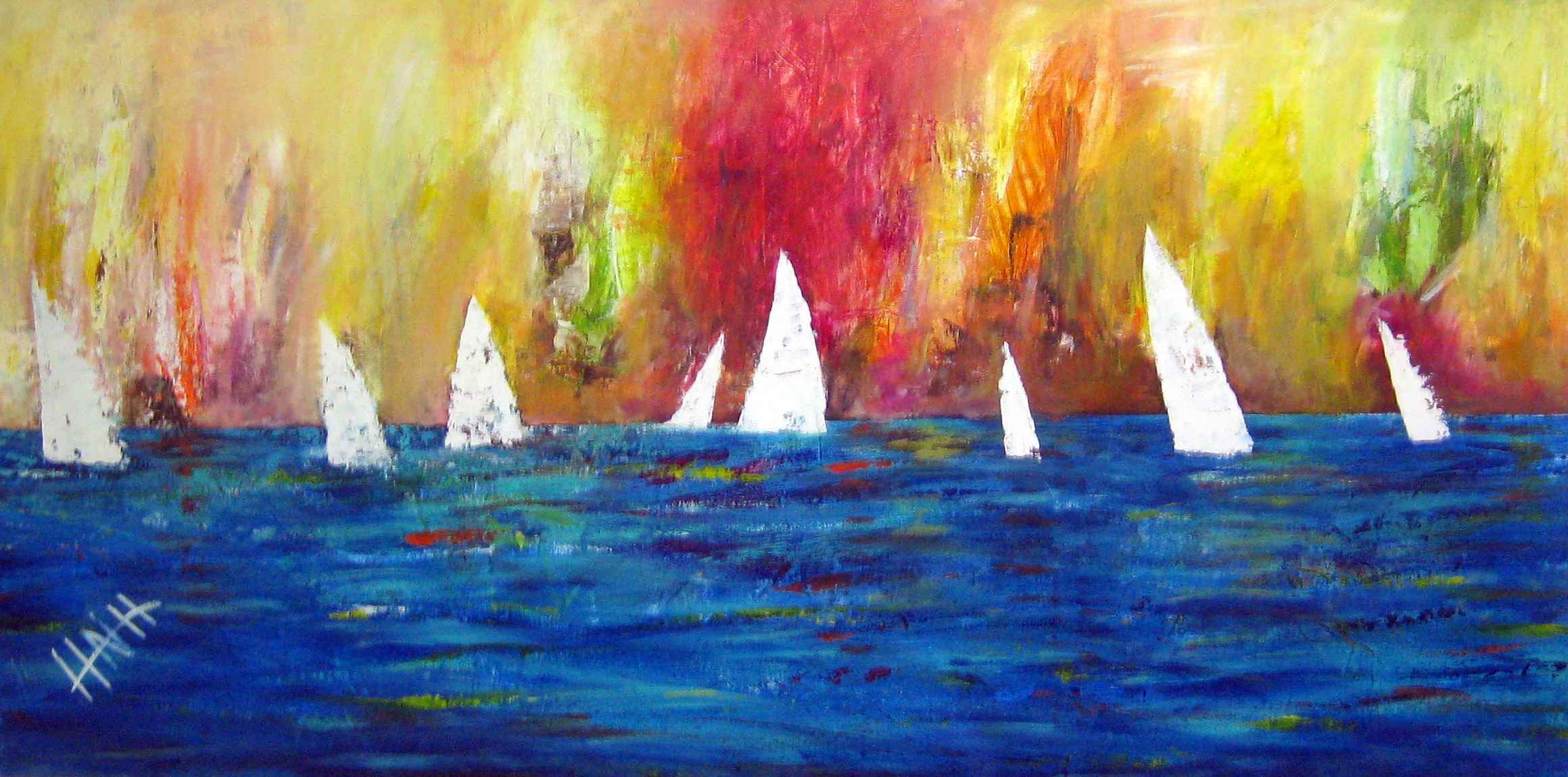 394 A Day Out Sailing by Mr Nicholas Hadeed - Masterpiece Online