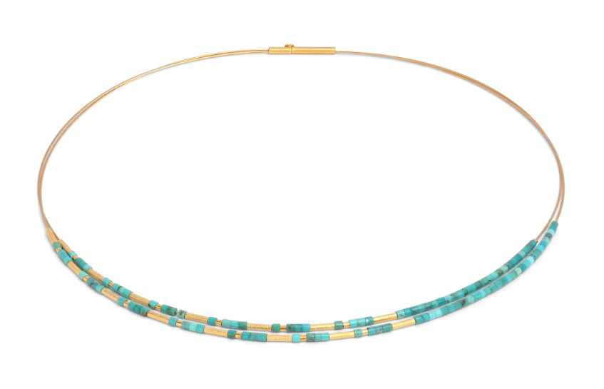 Clinni Turquoise Neck... by  Bernd Wolf - Masterpiece Online