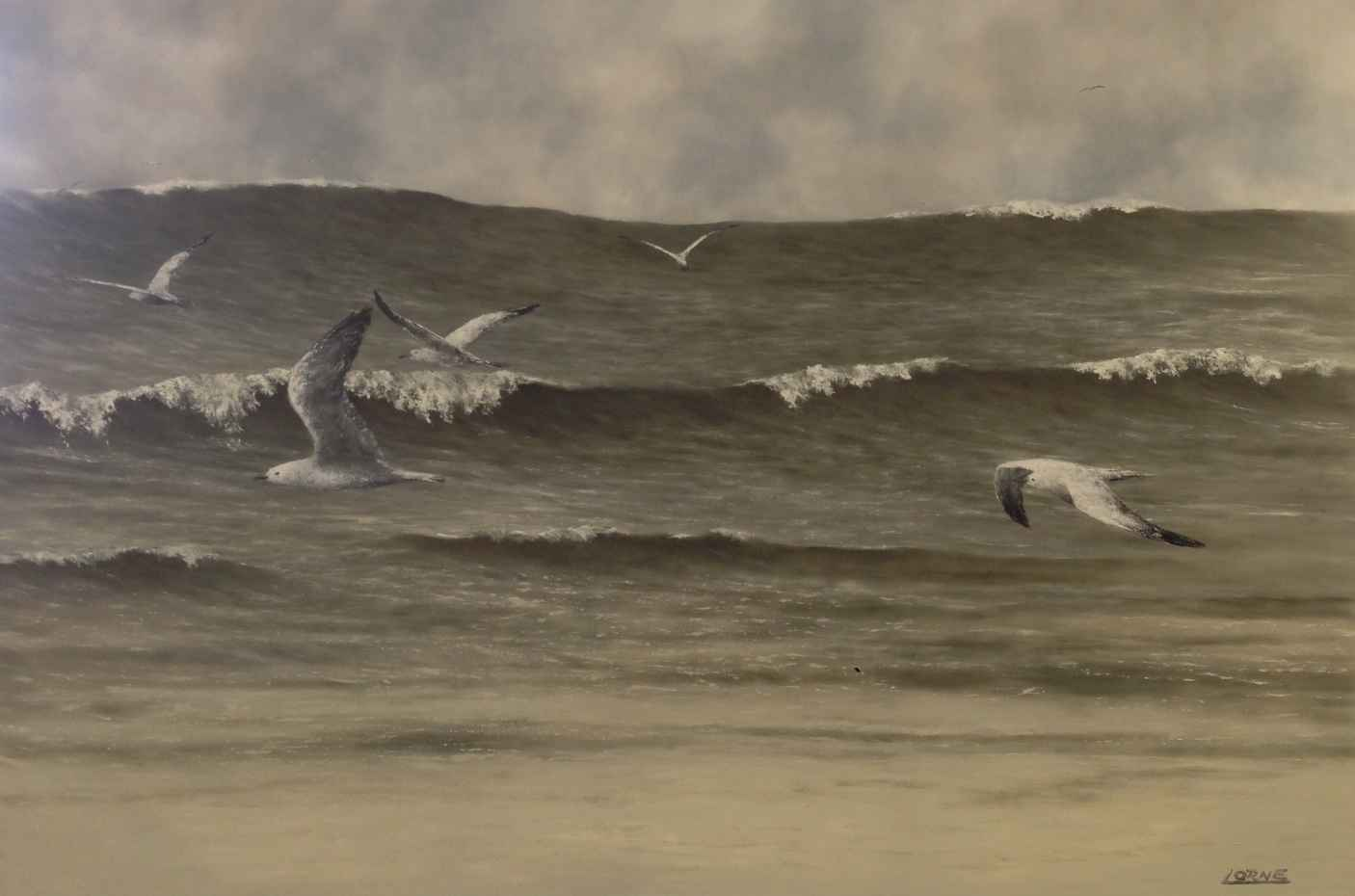 Riding The Wave by Mr. Lorne McDermott - Masterpiece Online