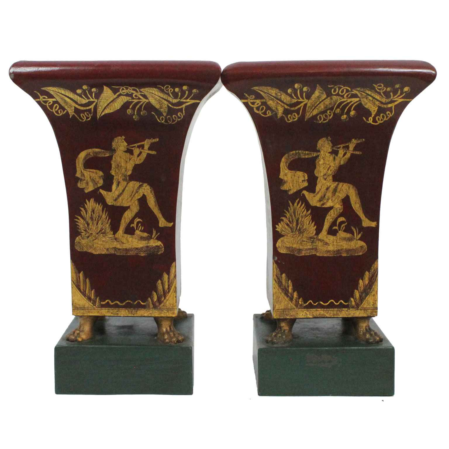 Pair of Antique Tole ... by  French  - Masterpiece Online