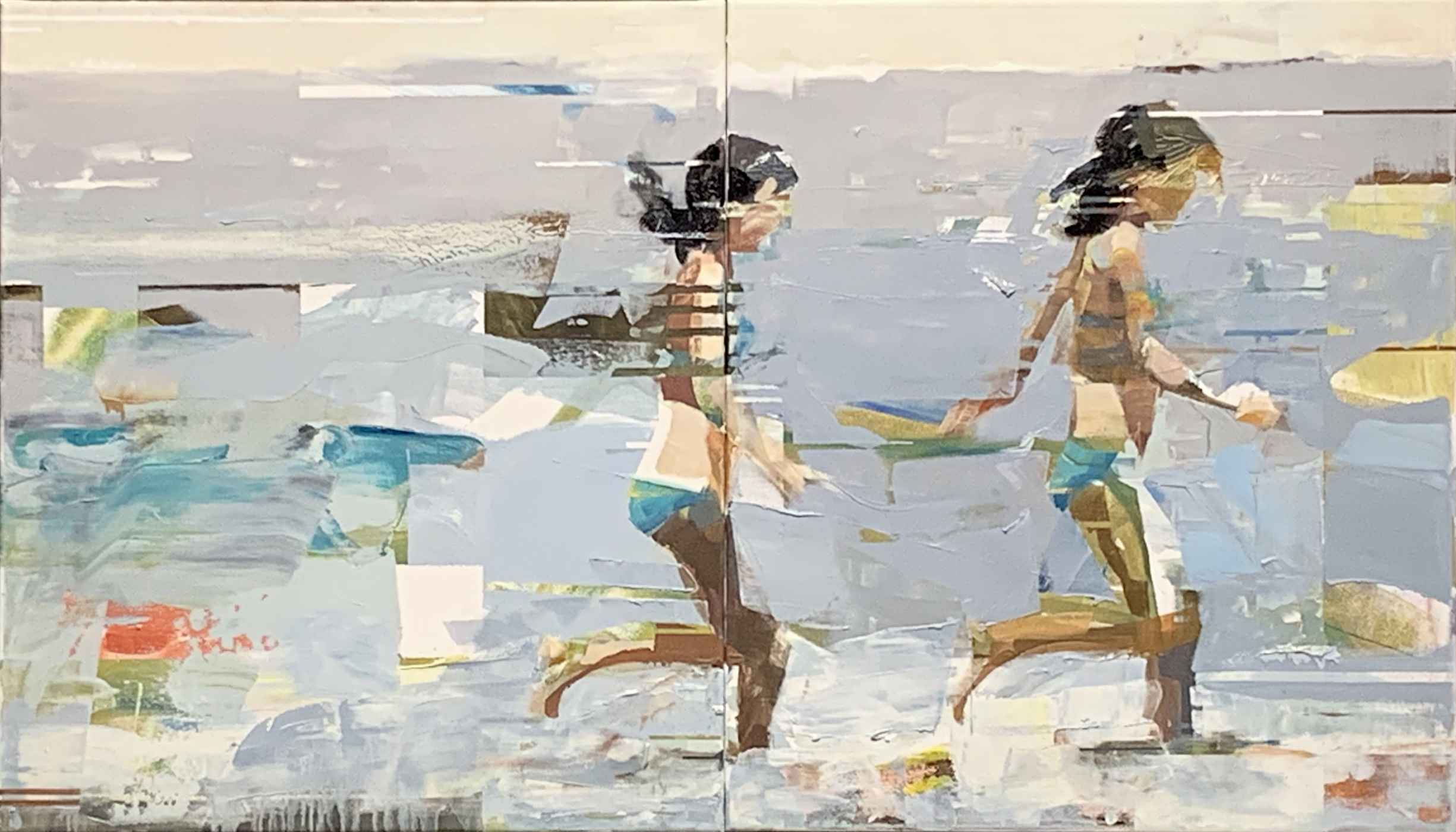 On The Shore (diptych) by Mr. Michael Azgour - Masterpiece Online