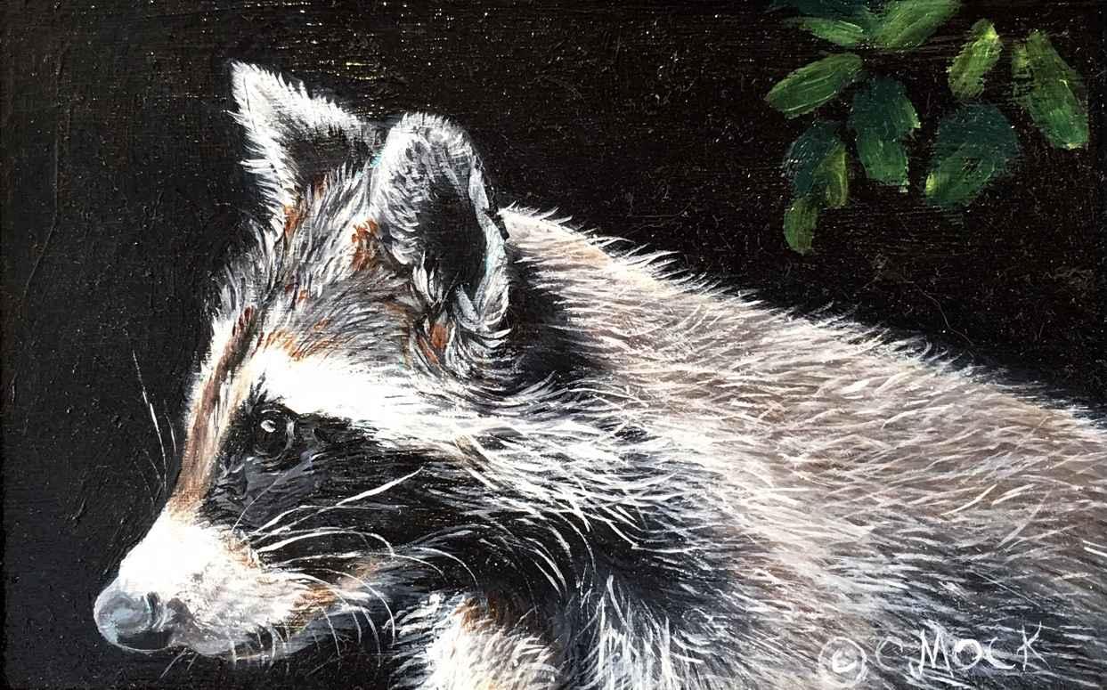 Raccoon I by  Carolyn Mock - Masterpiece Online