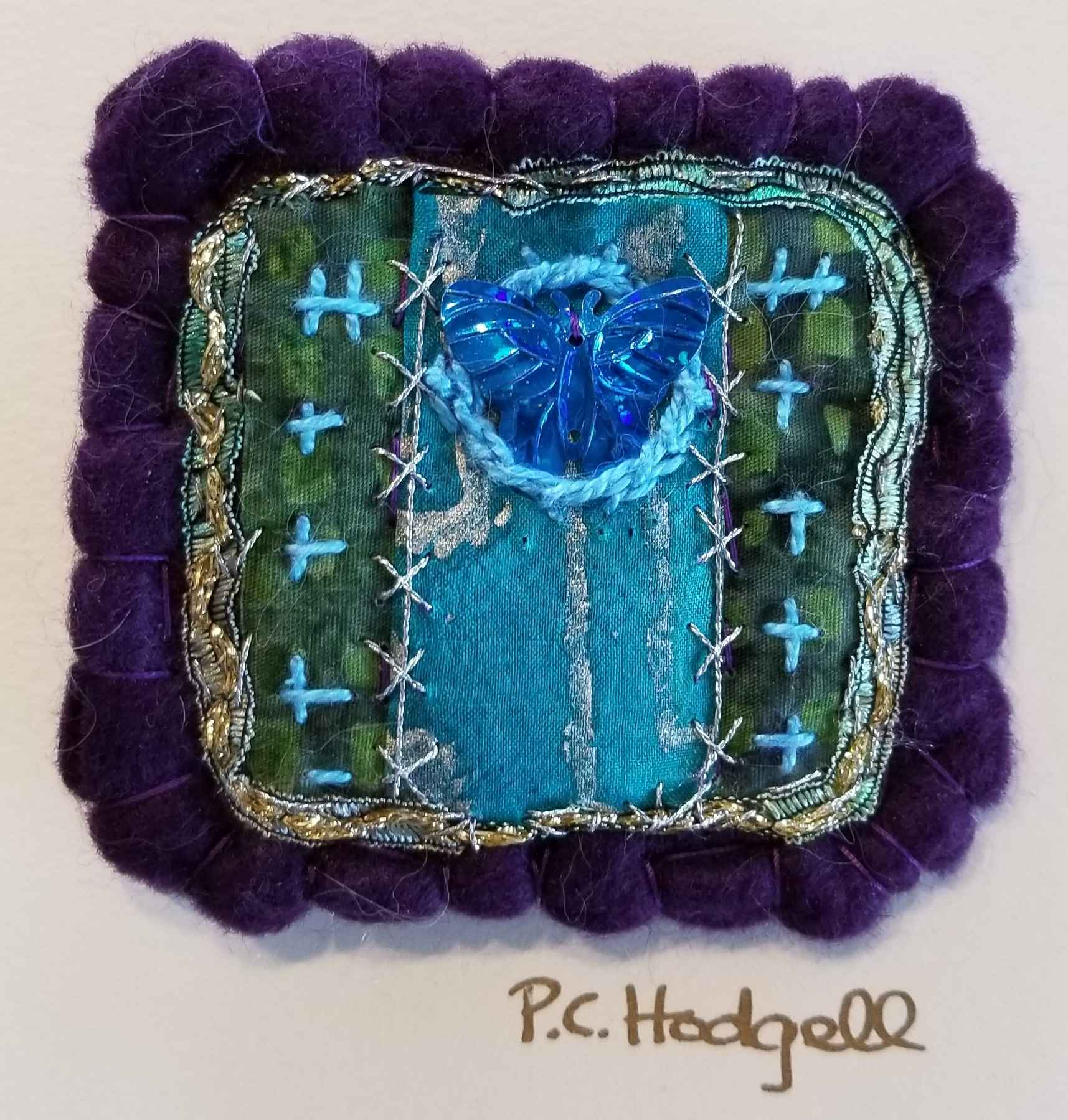 Fabric Broach by Ms. Pat Hodgell - Masterpiece Online