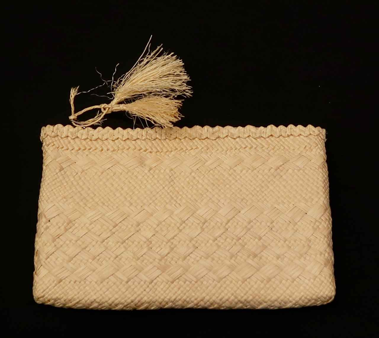 Woven Clutch with Zip... by  Unknown Unknown - Masterpiece Online
