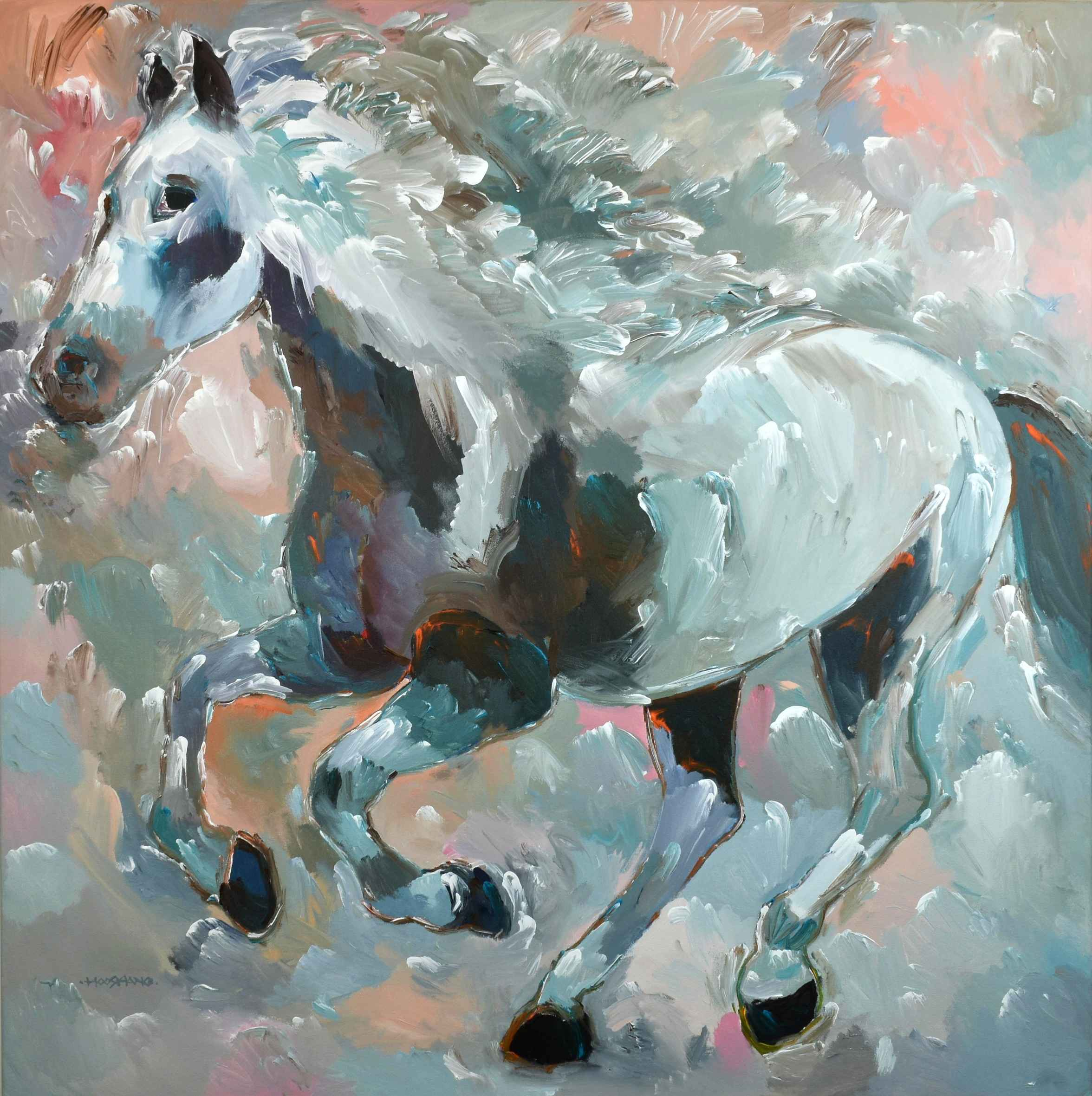 Night Thunder by  Hooshang Khorasani - Masterpiece Online