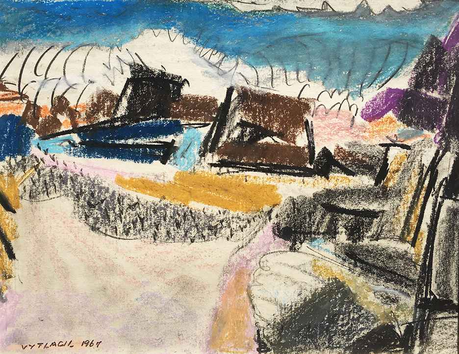Untitled (Shore Study) by  Vaclav Vytlacil - Masterpiece Online