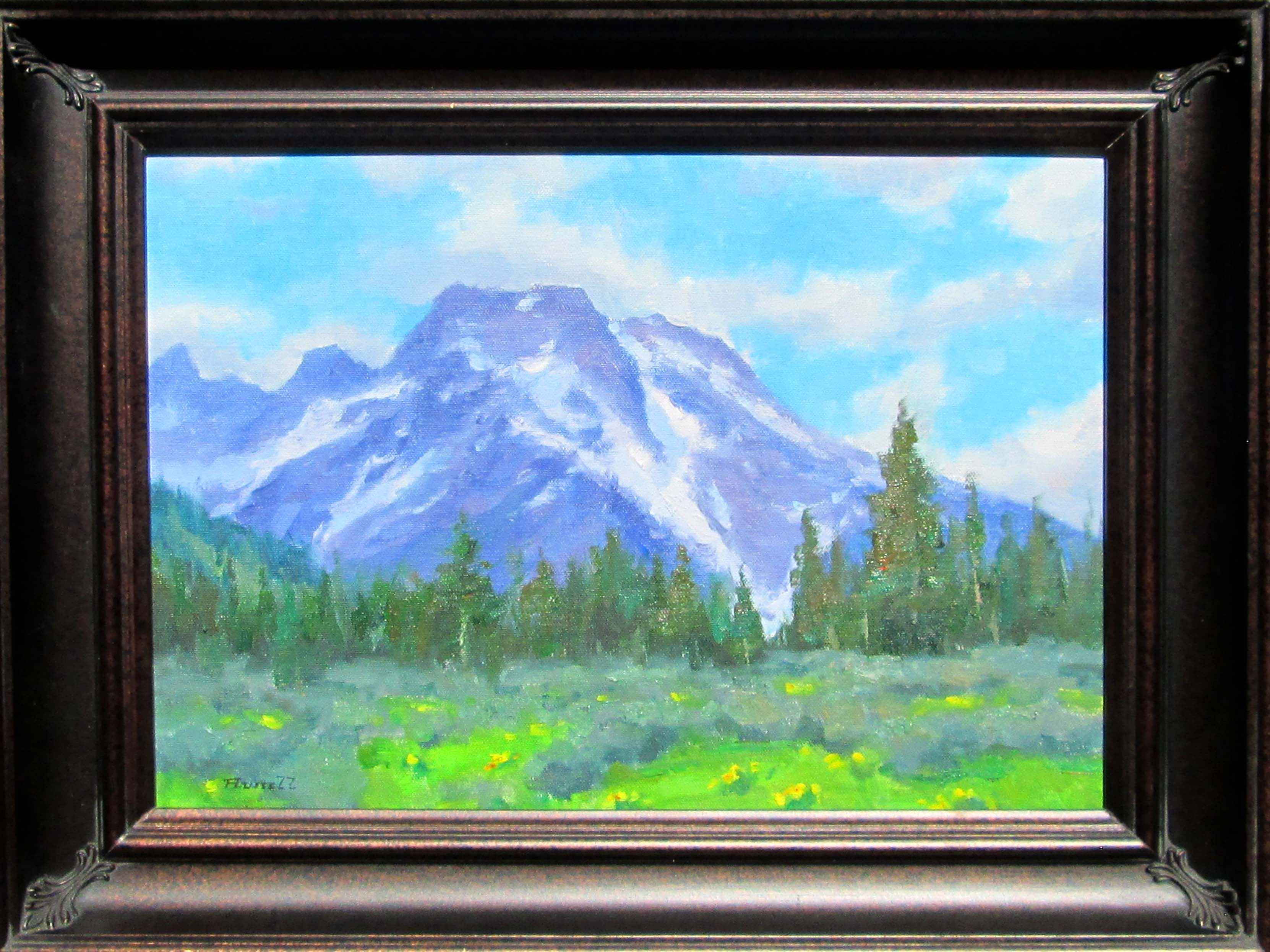 Mount Moran by  Gregg Russell - Masterpiece Online