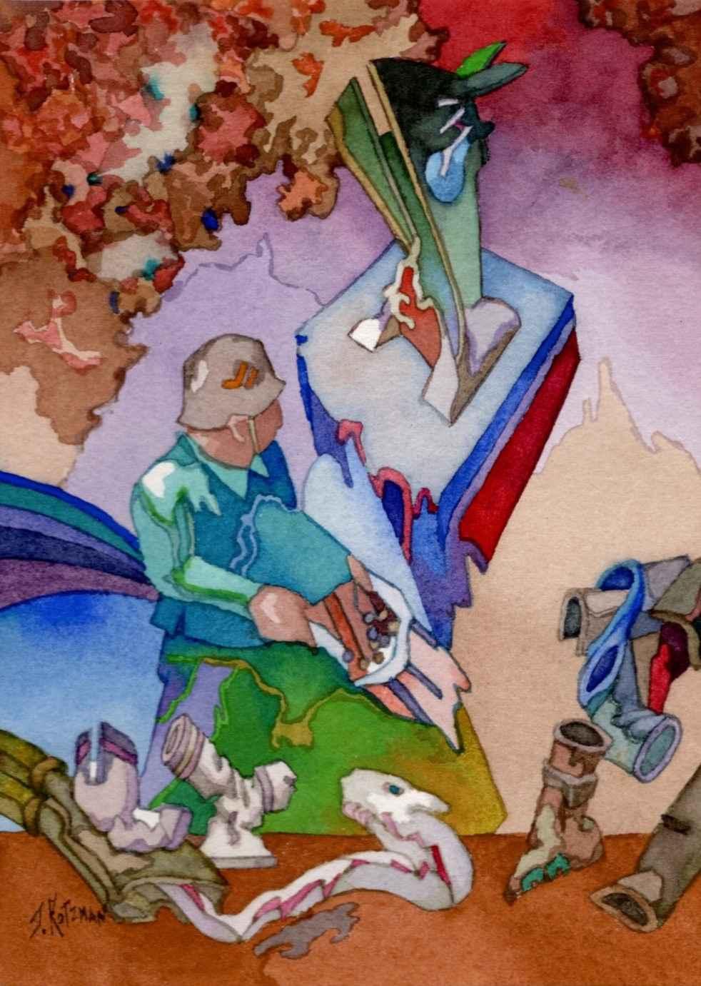 Bag of Tricks by  Joe Kotzman - Masterpiece Online