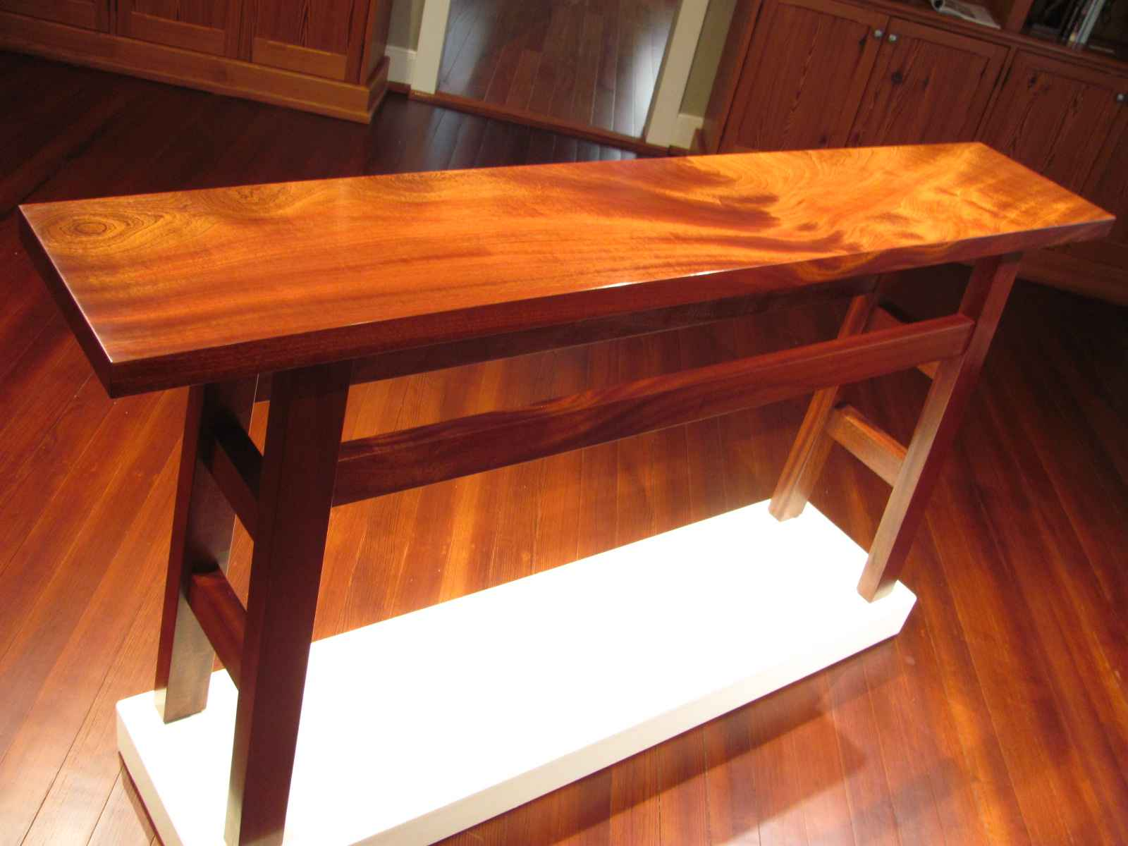 Entry Table - Sapele ... by  Rex White - Masterpiece Online