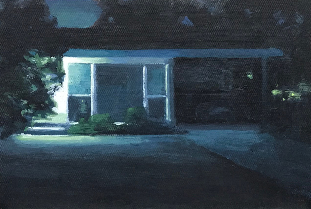 Midway Ave. Nocturne  by  Brian Sindler