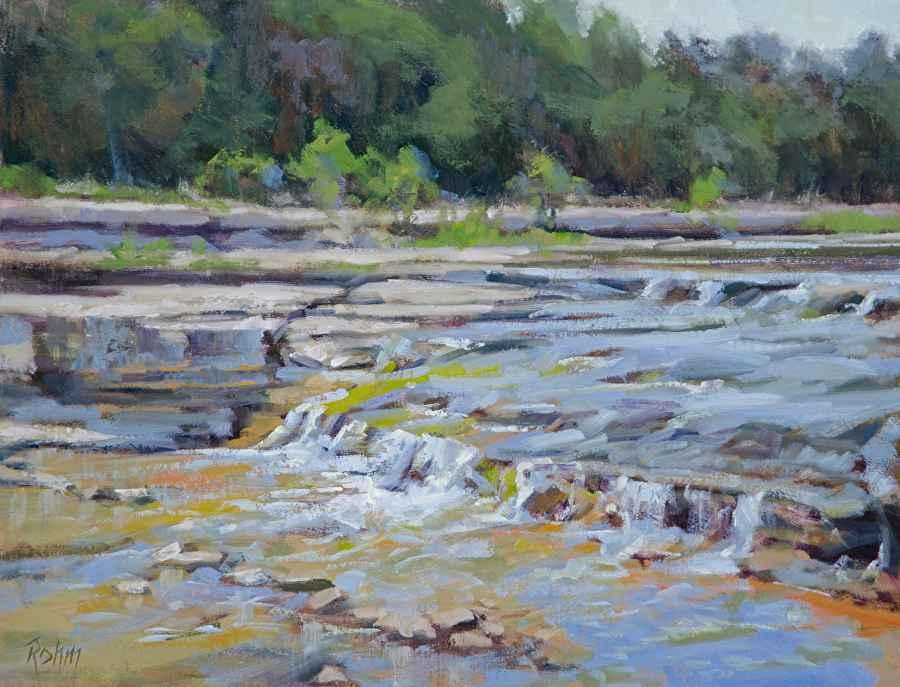 Cow Creek Falls by Mr Bob Rohm - Masterpiece Online