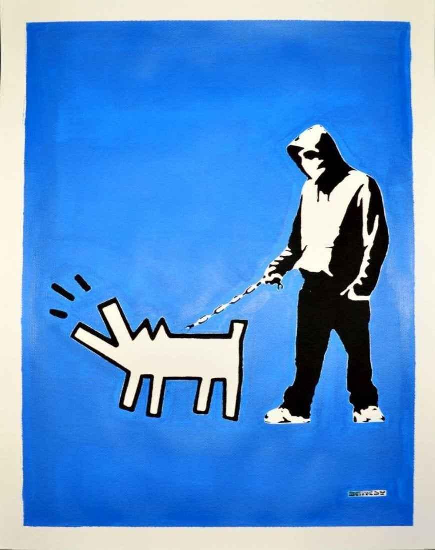 (After Banksy) Hoodie... by   Banksy - Masterpiece Online