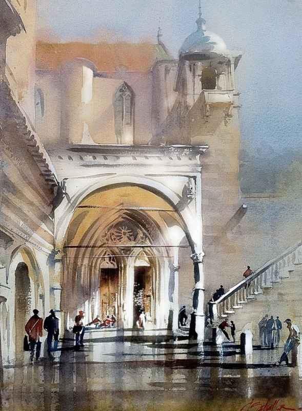 Portico Assisi by Mr. Thomas Schaller - Masterpiece Online