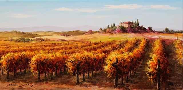 Small Vineyard by  Soon Ju Choi  - Masterpiece Online