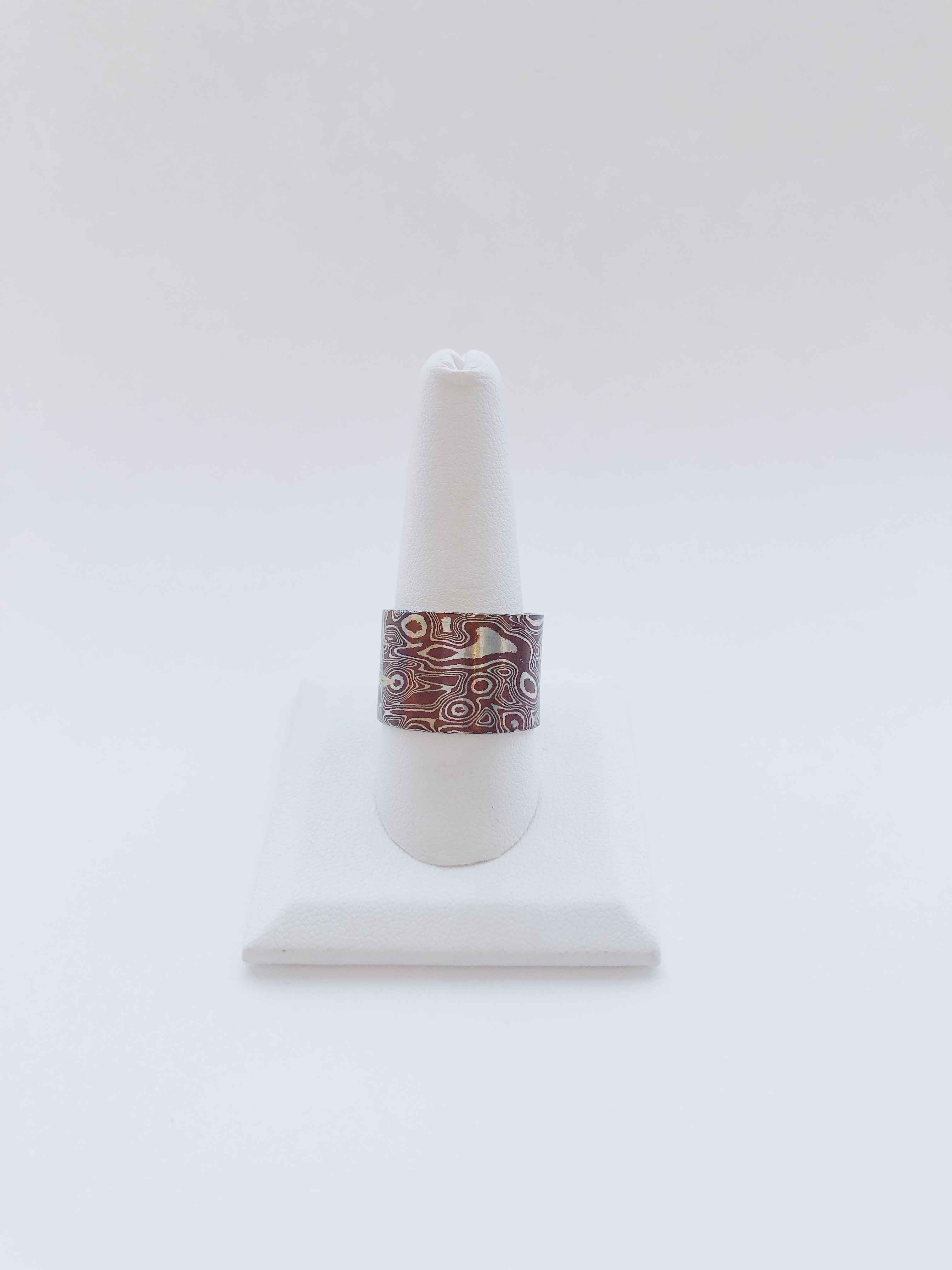 Mokume Ring by  Cathy Miller - Masterpiece Online