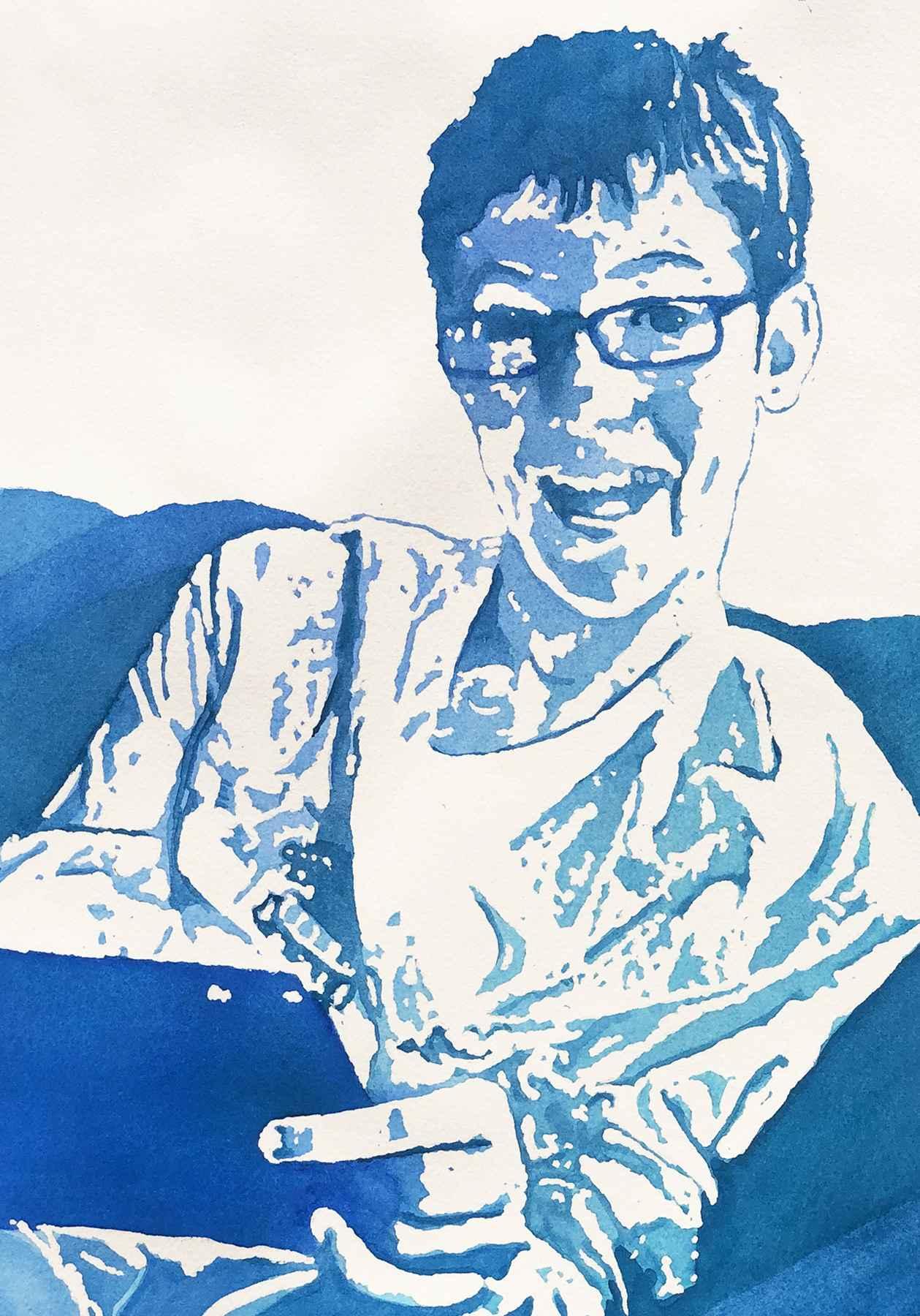 Gavin by  Nancy Huber - Masterpiece Online