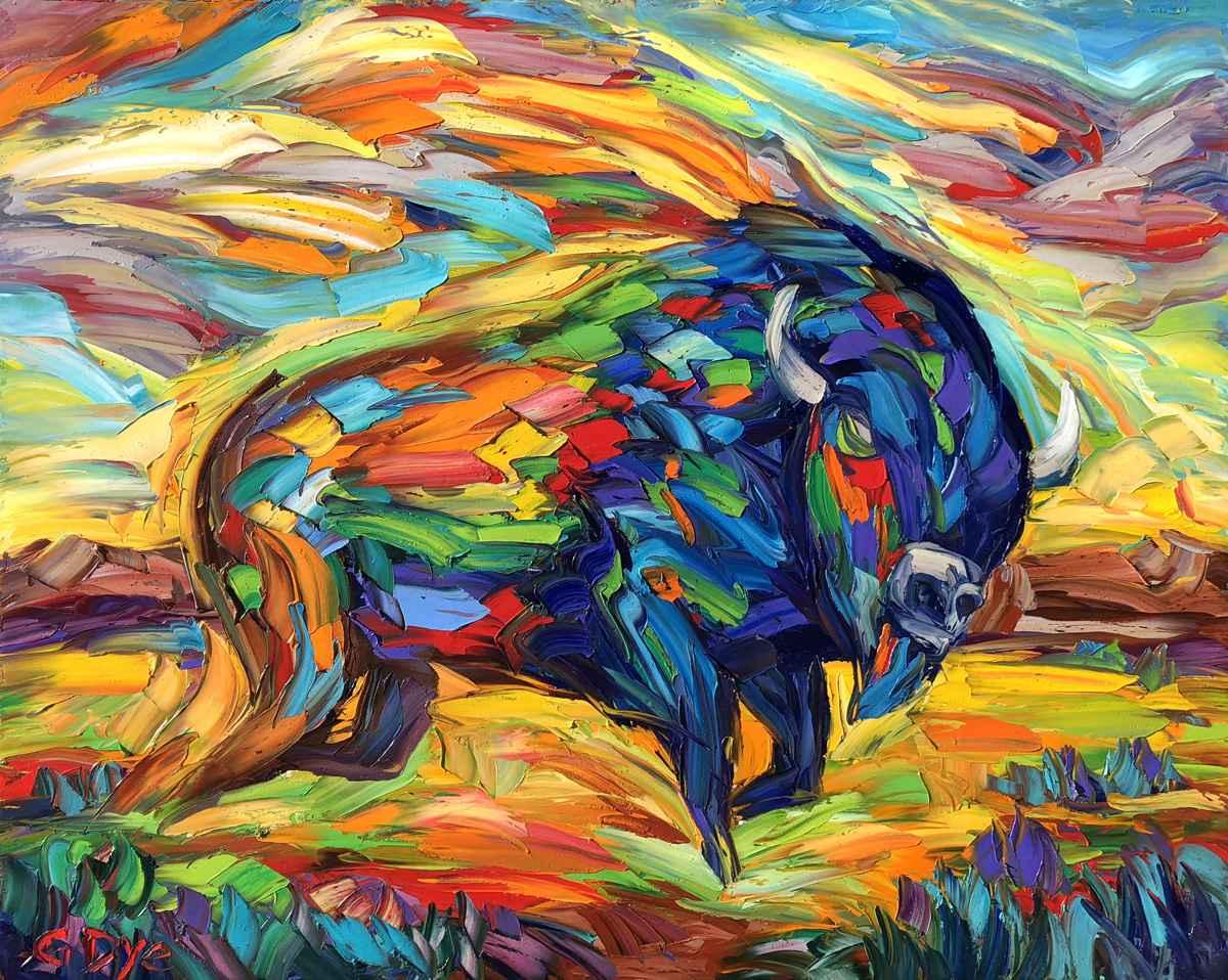 Runs Like the Wind by  Greg Dye - Masterpiece Online