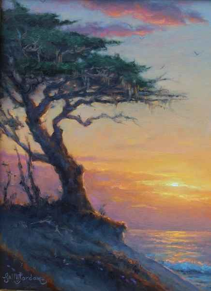 Setting Sun Serenity by  Sally  Jordan - Masterpiece Online