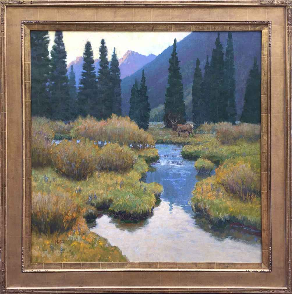Brush Creek Bull by Mr. Wayne Wolfe - Masterpiece Online