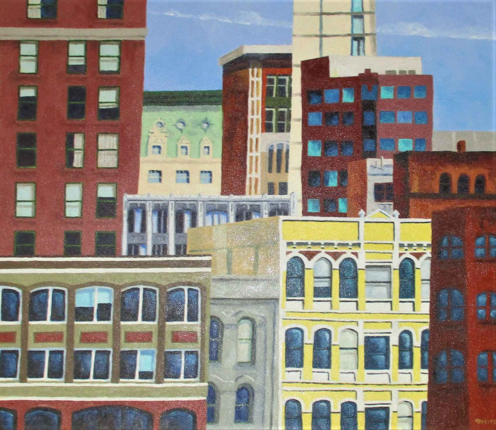 View from the Morriso... by  Mitch Freifeld - Masterpiece Online