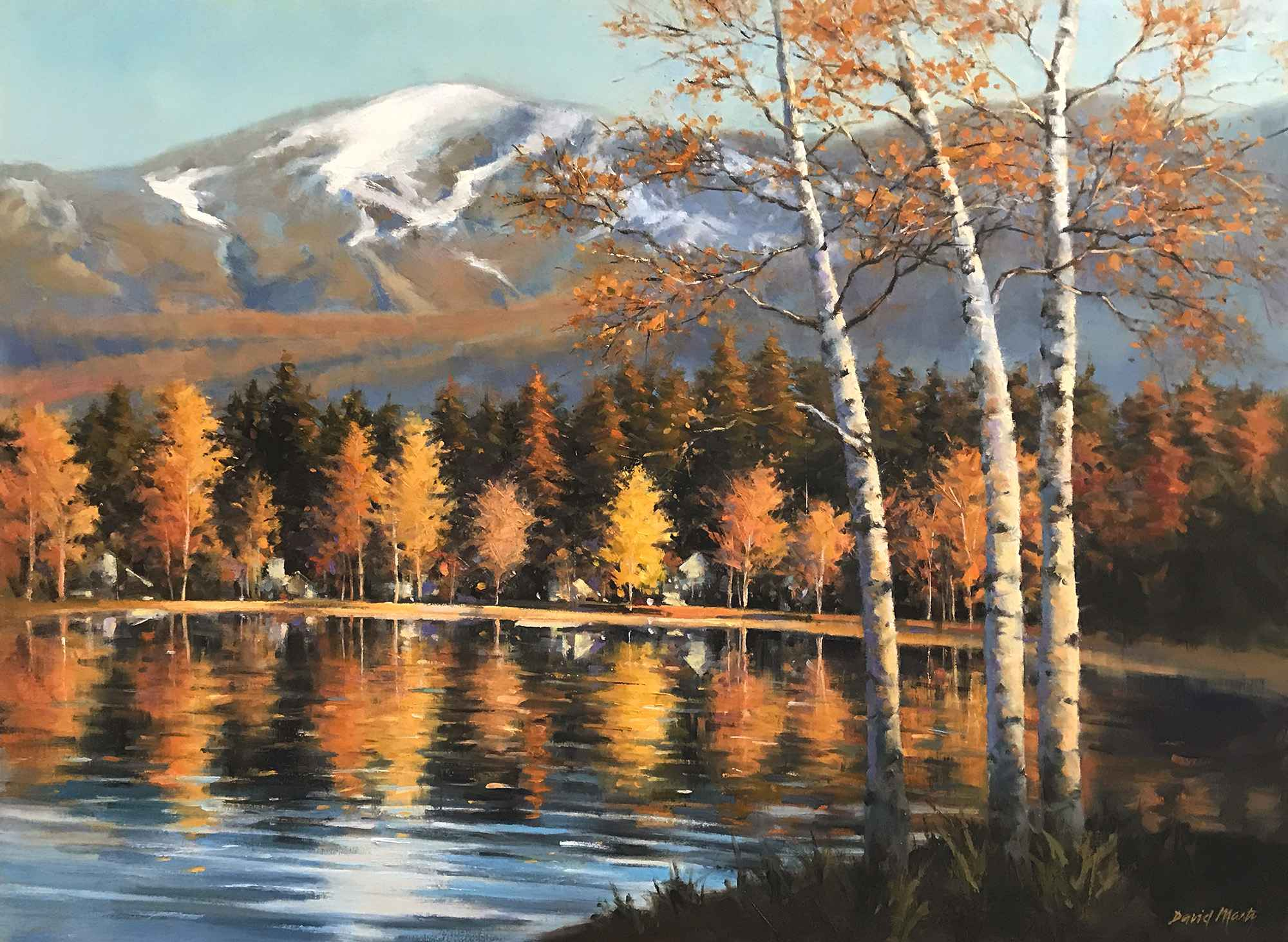 Reflections of Autumn by  David Marty - Masterpiece Online