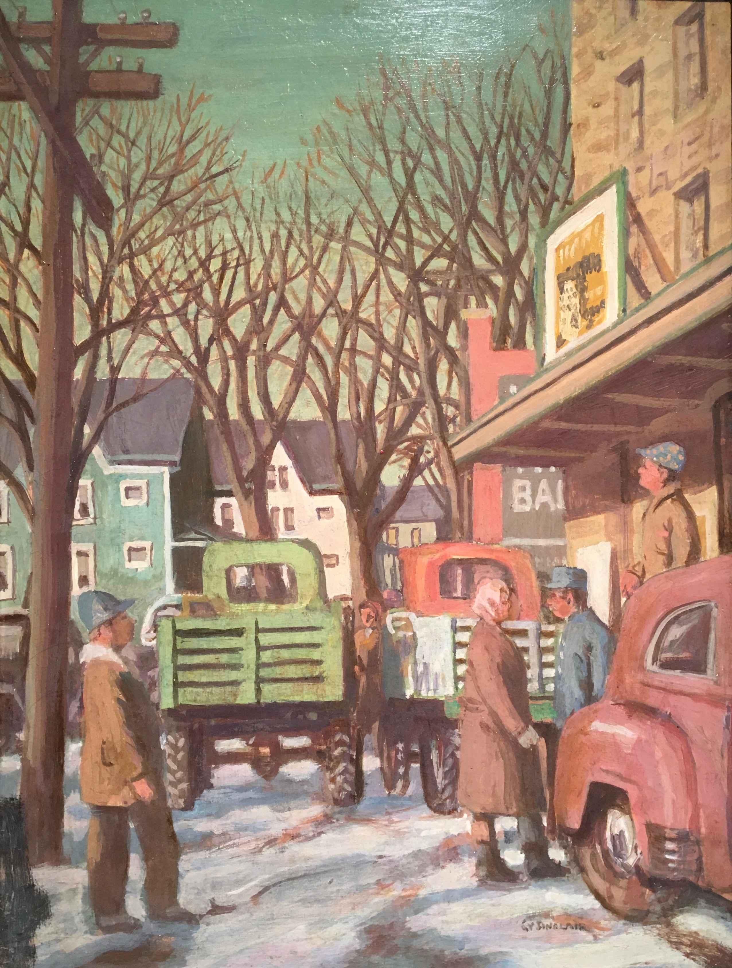 Theinsville Mill by Mr. Gerrit Sinclair - Masterpiece Online