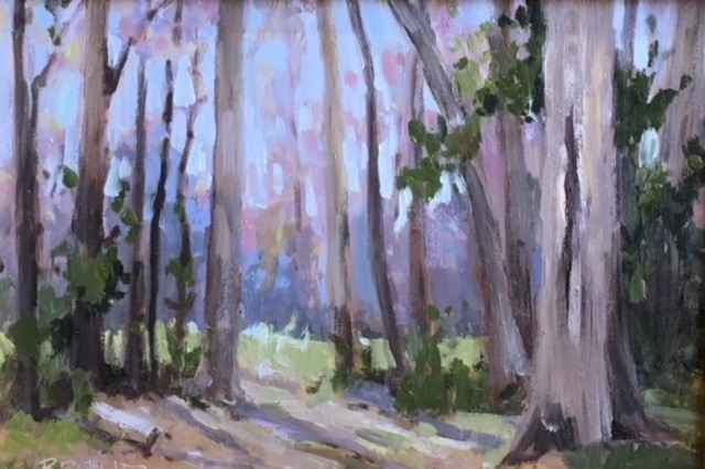 Woods Study by  Beverly Bruntz - Masterpiece Online