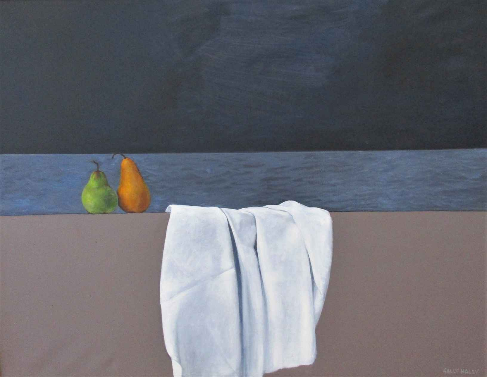 Untitled ( 2 pears an... by  Sally Haley - Masterpiece Online