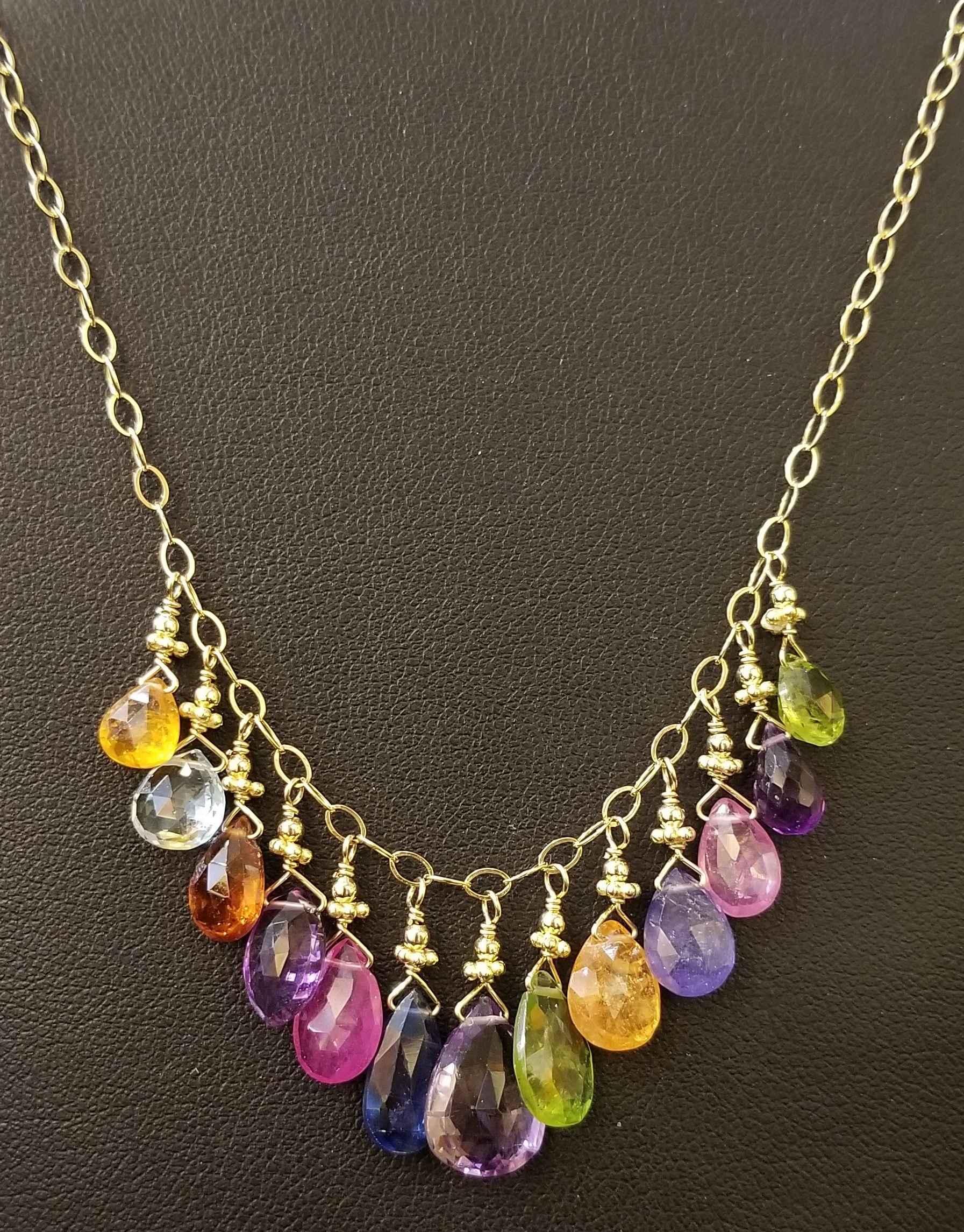 Happy Necklace GF by  Paula Nurse - Masterpiece Online