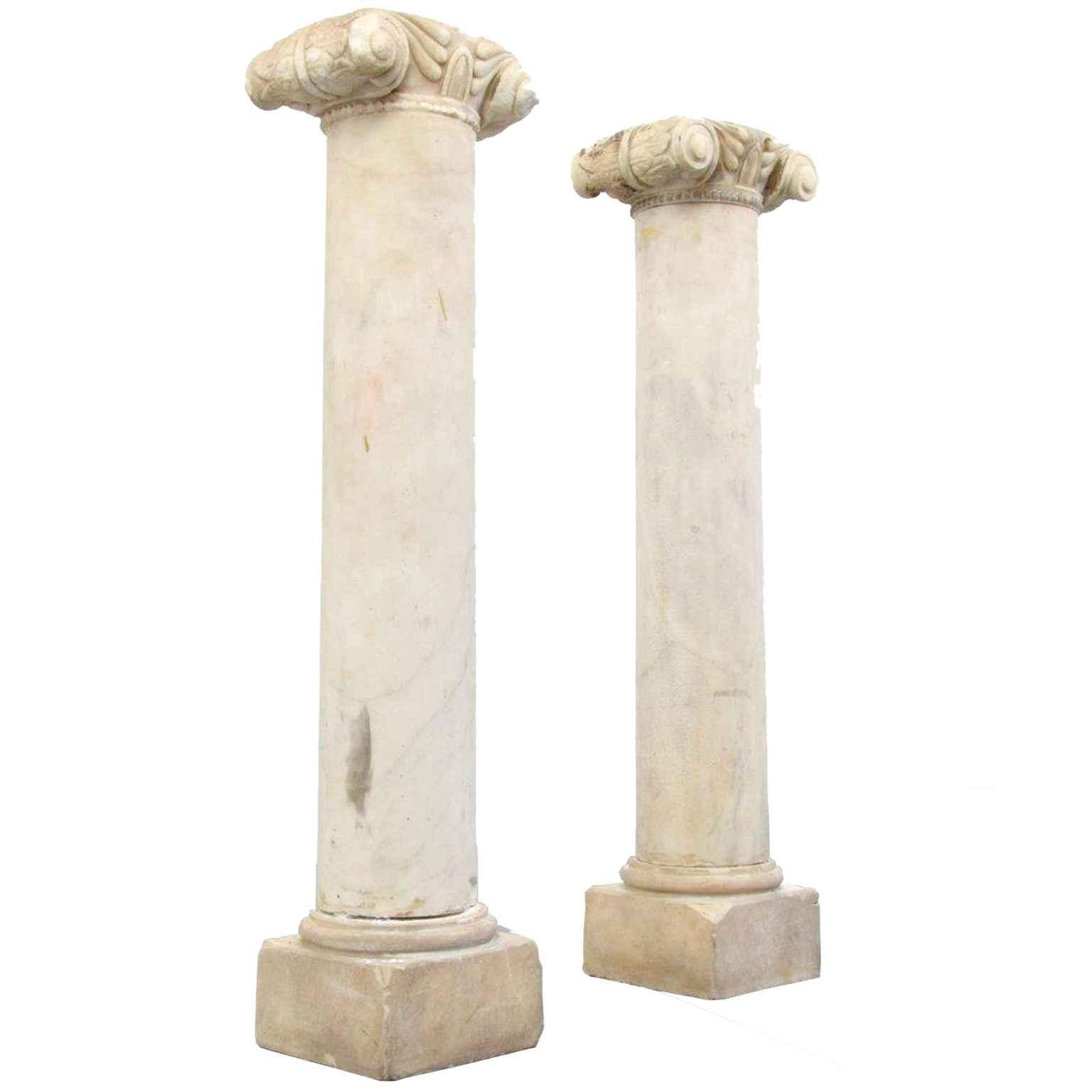 Pair of Attica Marble... by   Greek - Masterpiece Online