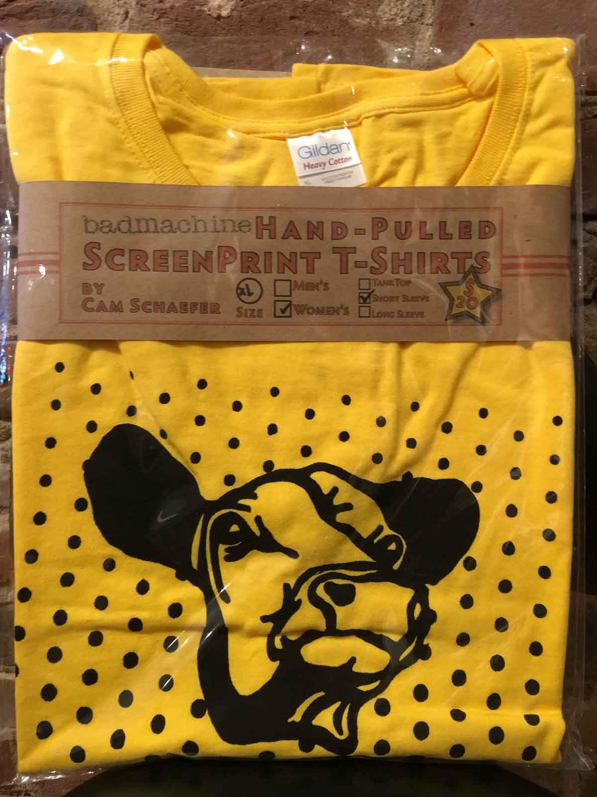 Yellow Cow T-shirt (W...