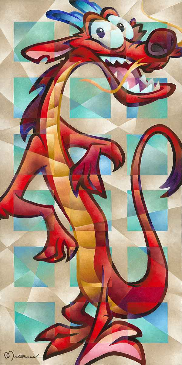 Mushu The Coolest by  Tom Matousek - Masterpiece Online